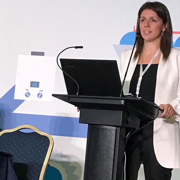 Maria Kyratsoudi, Regional FOBAS Business Development Manager, South Europe, Marine & Offshore, Lloyd's Register