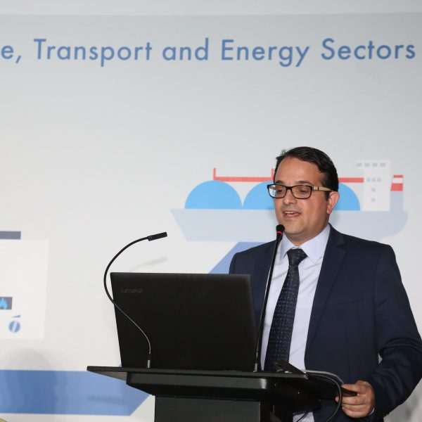 Mr. Michalis Chrysaphis, Industrial Extension Officer, Hydrocarbons Service, Ministry of Energy, Commerce, Industry and Tourism, Republic of Cyprus
