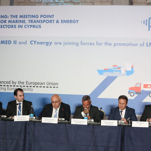 Snapshot from the Energy & Transport panel