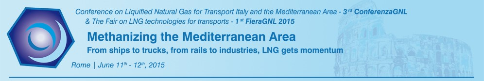 3rd ConferenzaGNL and 1st FieraGNL in Rome